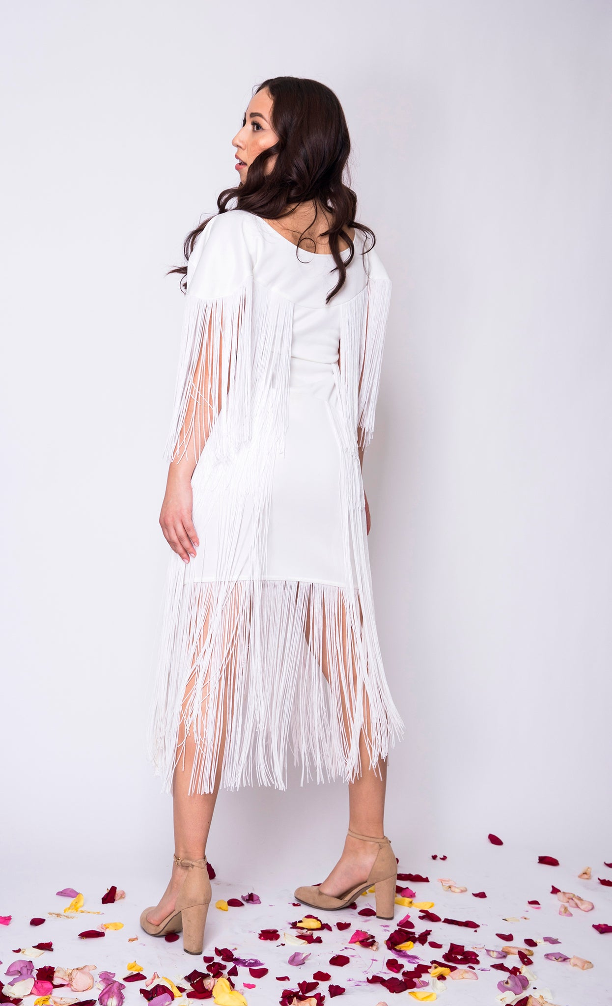 La Vita Bella Fringe Dress