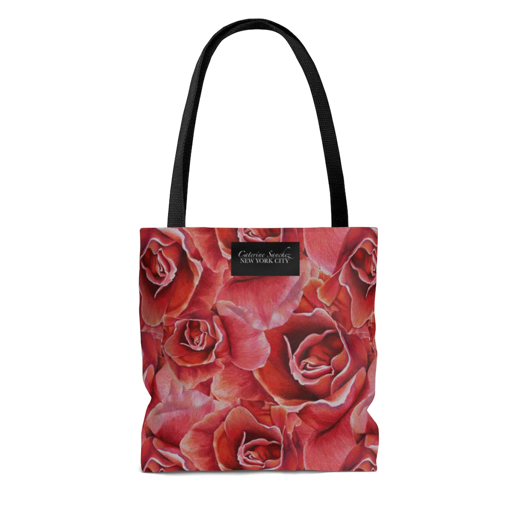 Ravishing Red Roses Carry- All Tote