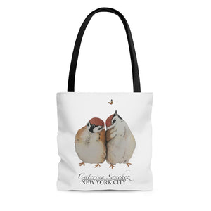 Snuggly Sparrow Tote