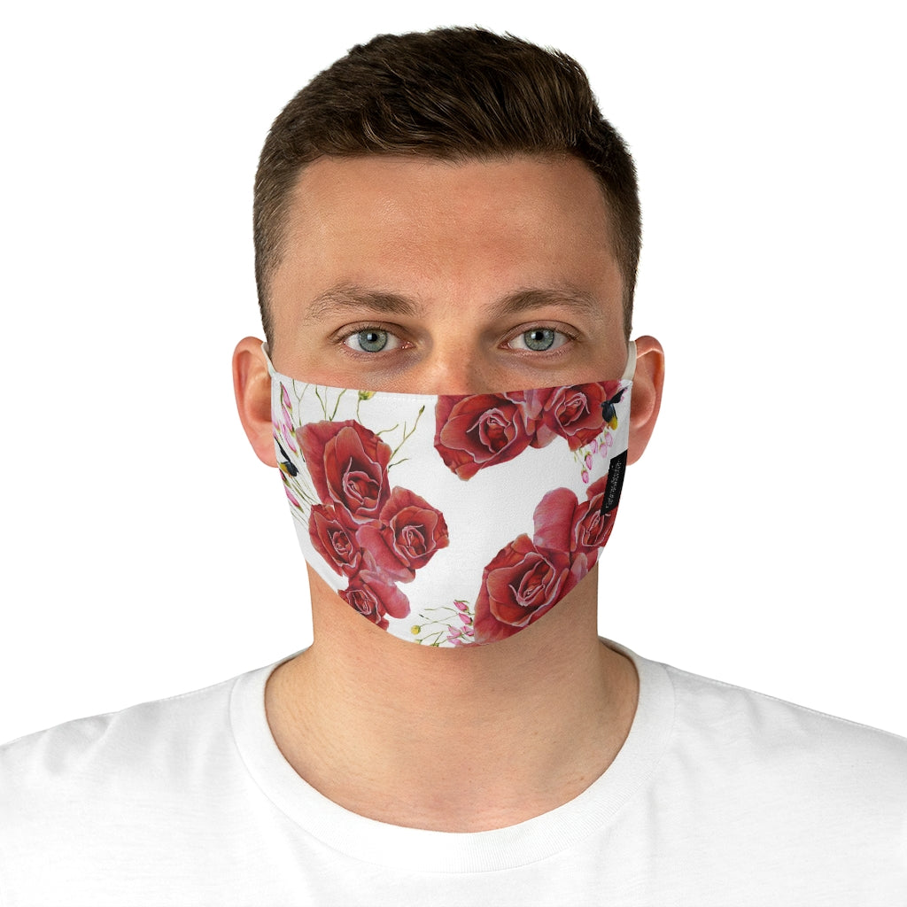 Rose Bouquet Face Mask