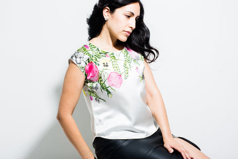 Floral Sheath Top