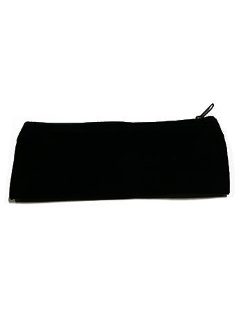 Black Velvet Carrying Case with Zipper