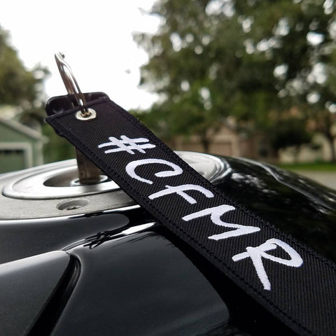 CG KeyTags Motorcycle Keychain - CFMR, Central Florida Motorcycle Riders