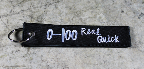 0-100 Real Quick - Original MotoMinds Key Tag