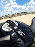 CG KeyTags Motorcycle Keychain - Keep Calm and Ride On