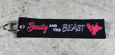 Beauty and the Beast - Original MotoMinds KeyTag