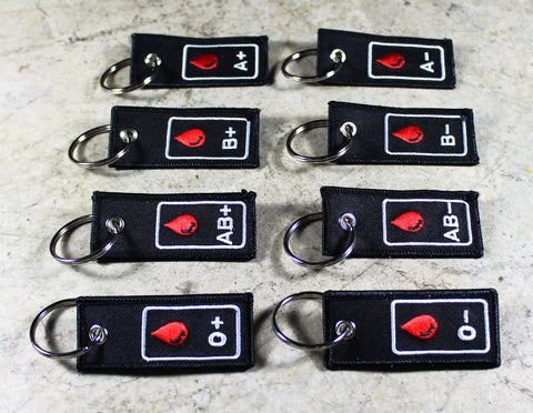 Blood Type - Original MotoMinds Key Tag