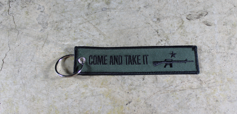 'Come and Take It' - MotoMinds™ Key Tag