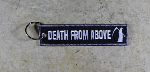 Death From Above - Original MotoMinds Key Tag