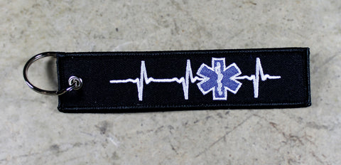 First Responder Heartbeat EMT/ EMS- MotoMinds Keys for a Cause