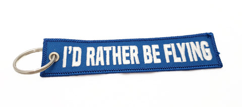 'I'd Rather Be Flying' - MotoMinds™ Key Tag