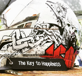 The Key to Happiness - Origina MotoMinds Key tag
