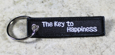 The Key to Happiness - MotoMinds Mini Key Tag