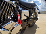 CG KeyTags Motorcycle Keychain - Loud Pipes Save Lives
