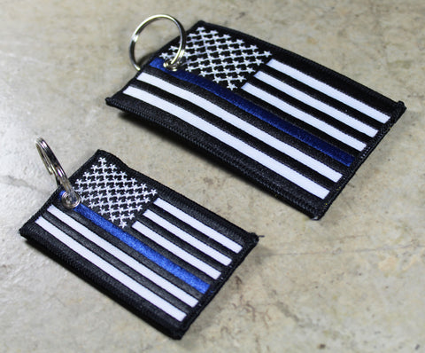 Thin Blue Line Flag - Original CG KeyTag