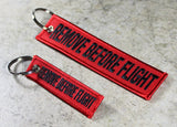 Remove Before Flight - MotoMinds Mini Key Tag