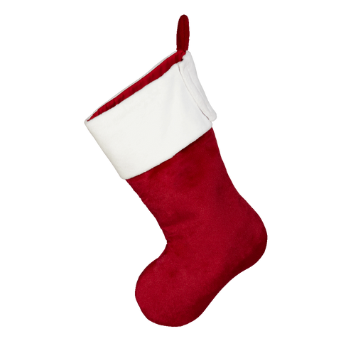 Embroider Buddy®Traditional Red Christmas Stocking