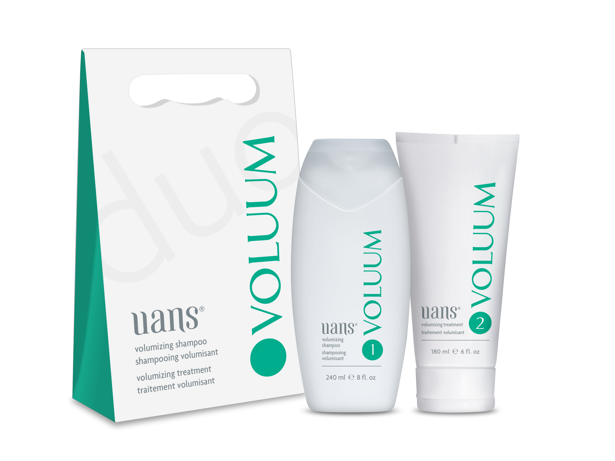 VOLUUM Volumizing Duo (240 ml Sh. + 180 ml Tr.)