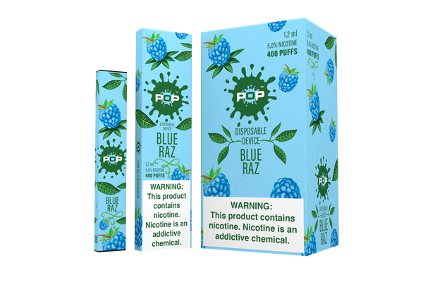 Blue Razz Pop Disposable Vape Pen