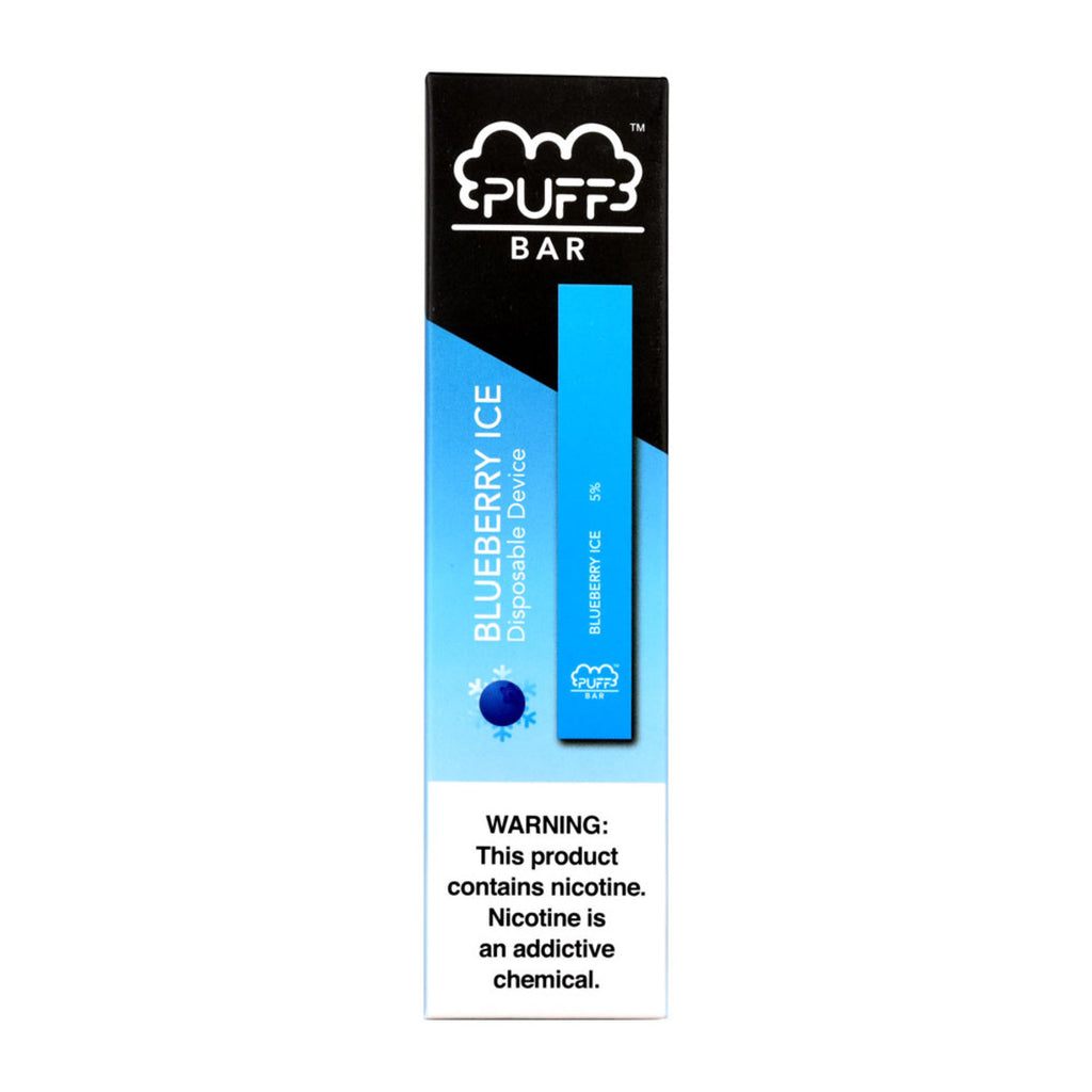 Blueberry Ice Puff Bar Disposable Vape