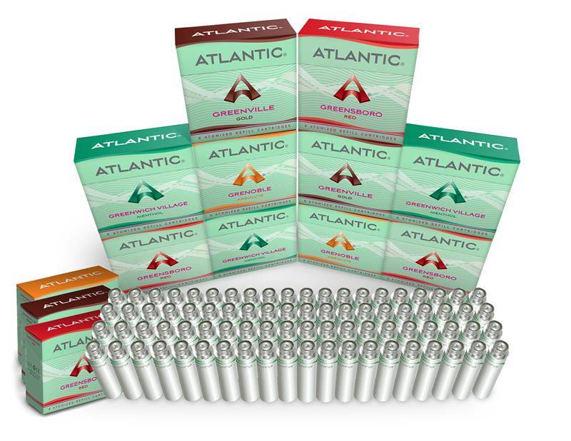 Atlantic Aqua Refills: Buy 10 Get 3 Free + Bonus Battery w/Charger! - AtlanticVapor.com