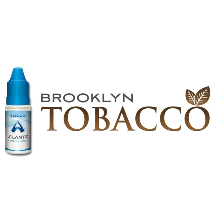 Brooklyn Tobacco Premium E-Liquid (10mL) - Comparable to LOGIC TOBACCO