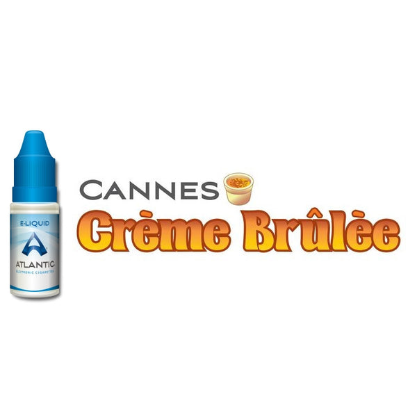 Cannes Creme Brulee Premium E-Liquid (10mL)