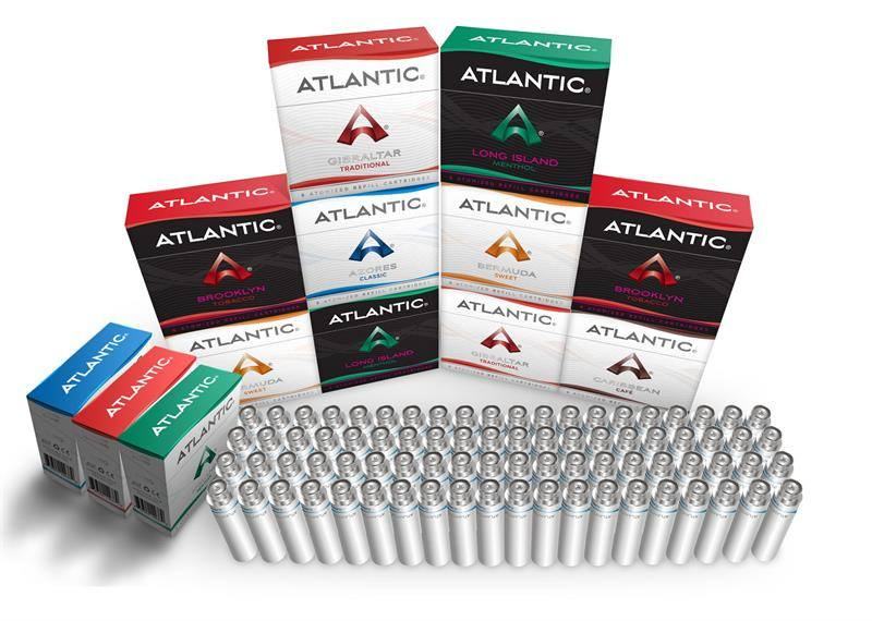 Atlantic Original Refills: Buy 10 Get 3 Free + Bonus Battery w/ Charger! - AtlanticVapor.com