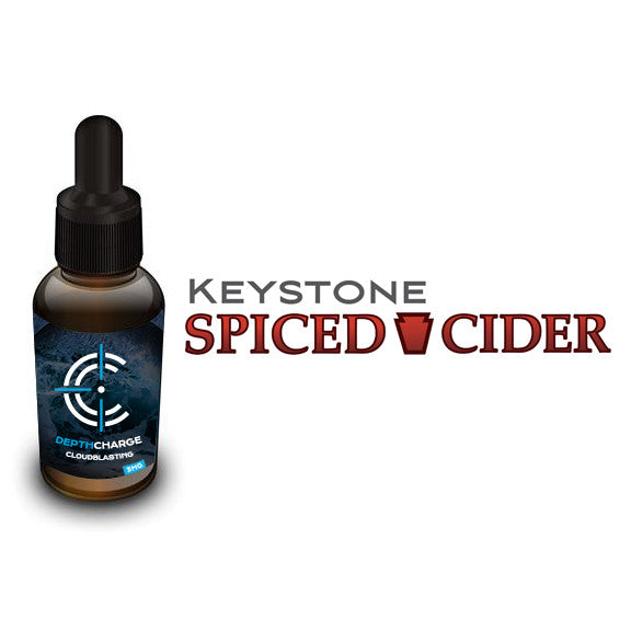 Keystone Spiced Cider Depth Charge Max VG E-Liquid (30mL)