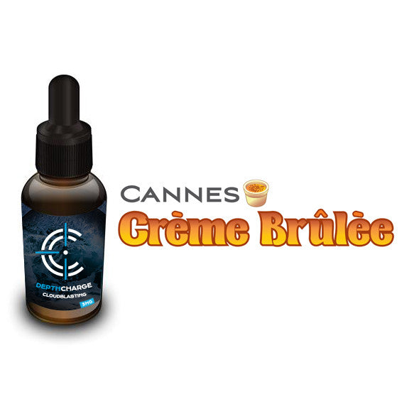 Cannes Creme Brulee Depth Charge Max VG E-Liquid (30mL)