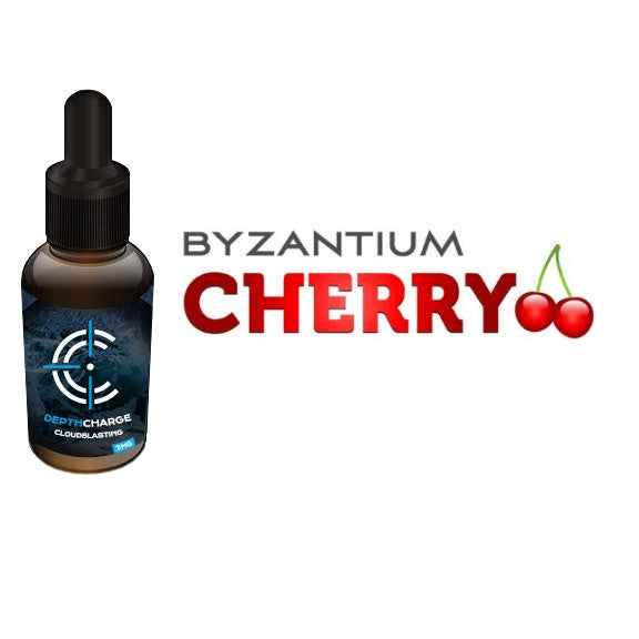Byzantium Cherry Depth Charge Max VG E-Liquid (30mL)