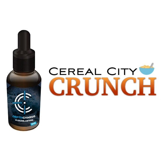 Cereal City Crunch Depth Charge Max VG E-Liquid (30mL)