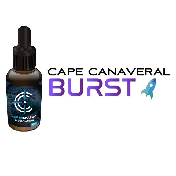 Cape Canaveral Burst Depth Charge Max VG E-Liquid (30mL)