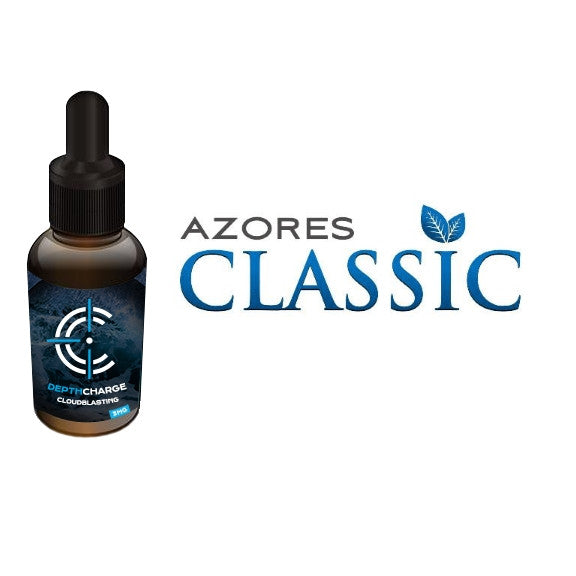 Azores Classic Depth Charge Max VG E-Liquid (30mL)