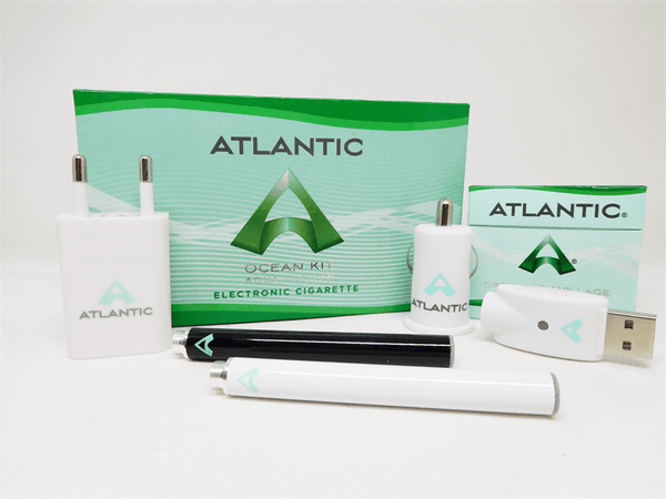 Atlantic Ocean Rechargeable Starter Kit (Aqua Edition) - Fits Green Smoke® Refills - AtlanticVapor.com