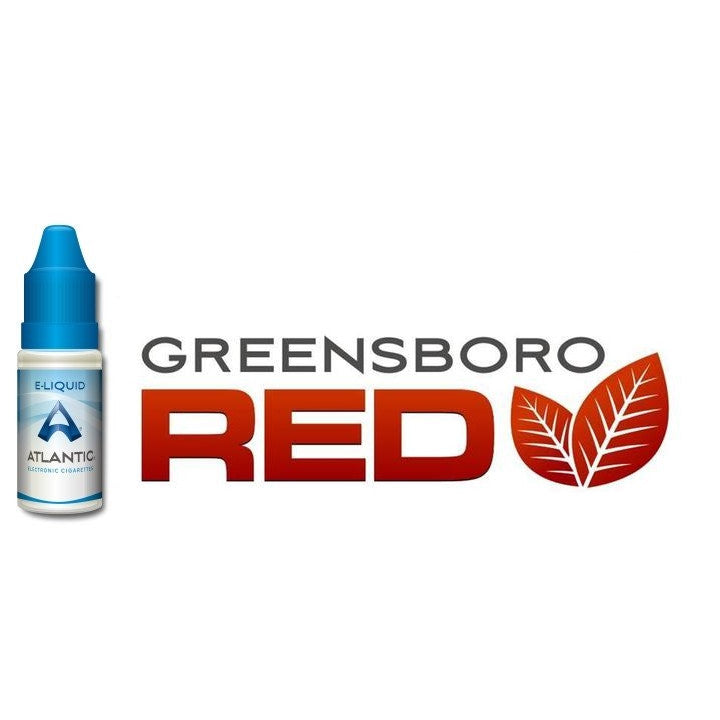 Greensboro Red Premium E-Liquid (10mL) - Inspired by Green Smoke® Red Label Tobacco