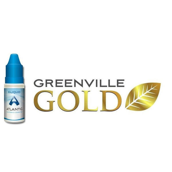 Greenville Gold Premium E-Liquid (10mL) - Inspired by Green Smoke® Tobacco Gold