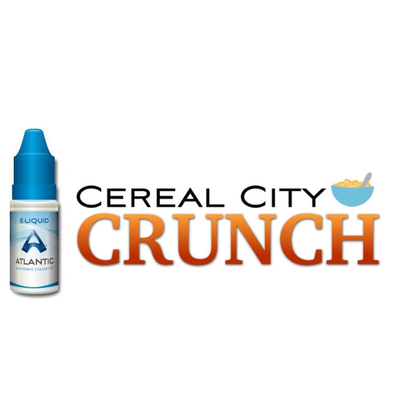 Cereal City Crunch Premium E-Liquid (10mL)