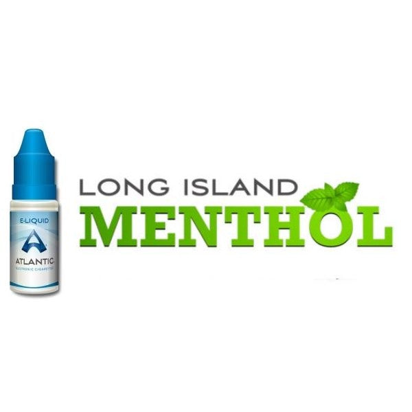 Long Island Menthol Premium E-Liquid (10mL) - Comparable to LOGIC MENTHOL