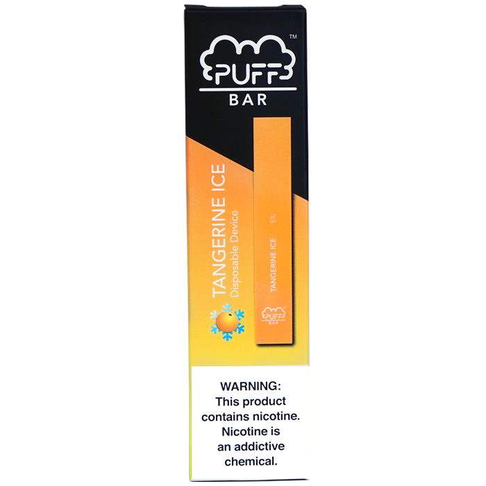 Tangerine Ice Puff Bar Disposable Vape