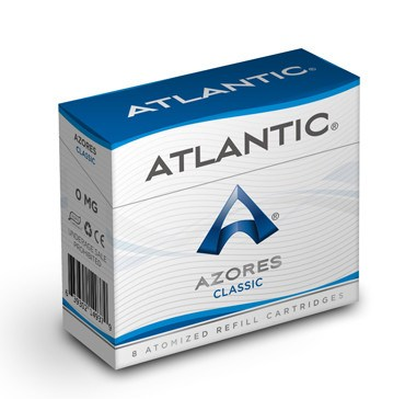 Azores Classic Refill Single Pack (8 Count) - AtlanticVapor.com - 1