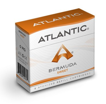 Bermuda Sweet Refill Single Pack (8 Count) - AtlanticVapor.com - 1