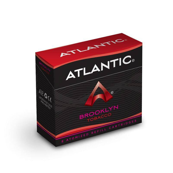 Black Sails - Brooklyn Tobacco Refill Single Pack (8 count) - Comparable to Logic Tobacco - AtlanticVapor.com