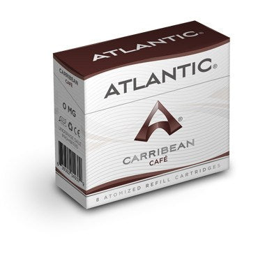 Caribbean Cafe Refill Single Pack (8 Count) - AtlanticVapor.com - 1