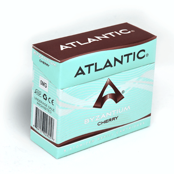 Byzantium Cherry Refill Single Pack (8 Count) - AtlanticVapor.com - 1