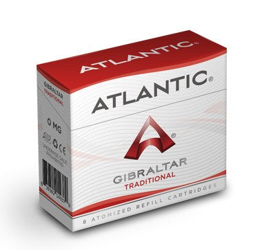 Gibraltar Traditional Refill Single Pack (8 Count) - AtlanticVapor.com - 1
