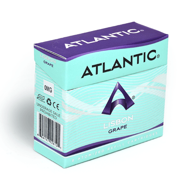 Lisbon Grape Refill Single Pack (8 Count) - AtlanticVapor.com - 1