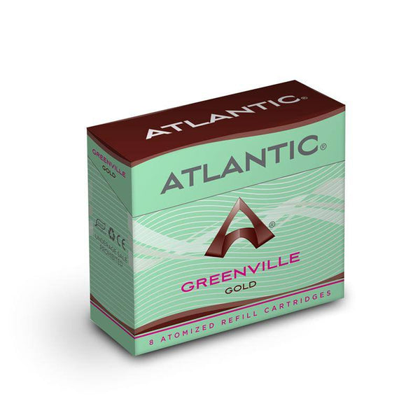Greenville Gold Refill Single Pack (8 Count) - Inspired by Green Smoke® Tobacco Gold - AtlanticVapor.com