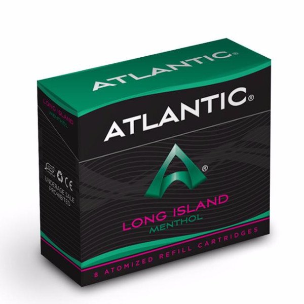 Black Sails - Long Island Menthol Refill Single Pack (8 count) - Comparable to Logic Menthol - AtlanticVapor.com