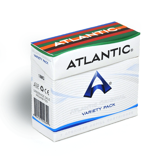 Atlantic Original Variety 18 MG Refill Single Pack (7 Count) - AtlanticVapor.com